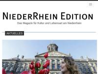 Niederrhein Editions - Das Magazin für Kultur und Lebensart