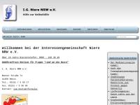 """I. G. Niere NRW e.V. (vormals: Interessengemeinschaft """"Künstliche Niere und Transplantierter"""" NRW e.V.)"""