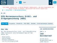 Normenausschuss Erdöl- und Erdgasgewinnung (NÖG) des DIN Deutsches Institut für Normung e.V.