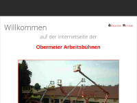 Obermeier Arbeitsbühnen, Inh. Josef Obermeier