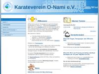 Karateverein O-Nami e.V.