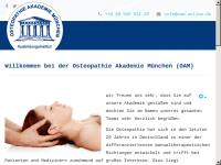 Osteopathie Akademie München