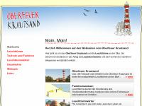 Oberfeuer Krautsand - Leuchtturm an der Elbe