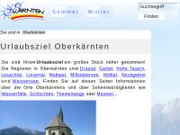 Regionen, Gemeinden und Ausflugsziele in Oberkaernten