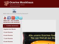 Ocarina Werkstatt Johann Rotter