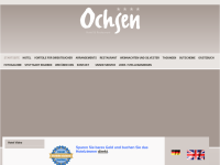 Hotel Ochsen, Restaurant and Bar