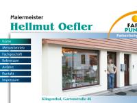 Malermeister Hellmut Oefler