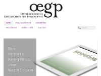 Österreichische Gesellschaft für Philosophie (ÖGP)
