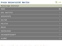 Osteuropa-Institut der Freien Universität Berlin