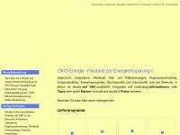 Öko-Energie, Inh. Thomas Oberholz