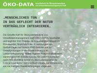 Öko-Data Gesellschaft für Ökosystemanalyse und Umweltdatenmanagement mbH