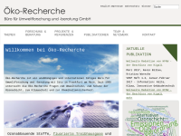 Öko-Recherche GmbH