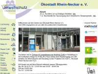 Ökostadt Rhein-Neckar