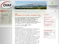 Österreichische Vereinigung für Agrar-, Lebens- und Umweltwissenschaftliche Forschung (ÖVAF)