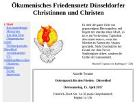 Ökumenisches Friedensnetz Düsseldorfer Christinnen und Christen