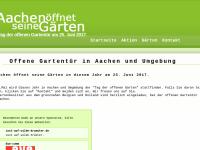 Aachen öffnet seine Gärten