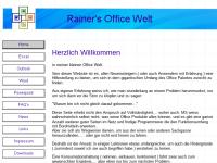 Rainer's Office Welt