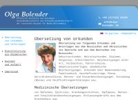 Olga Bolender