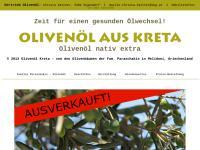 Olivenöl aus Kreta, Christa Kattner