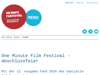 Film & Videofestival One Minute
