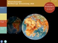 Adventskalender nachhaltige Entwicklung
