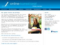 Online-Korrektorat Petra Jecker