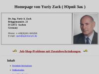 Zack, Dr. Yuriy