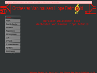 Orchester Vahlhausen Lippe-Detmold