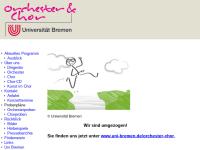 Orchester und Projektchor der Universität Bremen