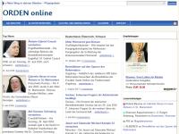 Orden-online: Der WebKatalog für Klöster und Orden