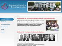 Arbeitsgemeinschaft der Ordenshochschulen (AGO)