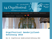 Sønderjylland Schleswig Orgelfestival
