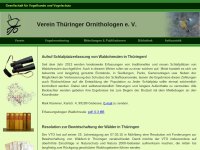 Verein Thüringer Ornithologen e.V.