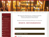 Orthodoxe Kirchengemeinde russischer Tradition