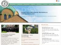 Die griechisch-orthodoxe Metropolie von Deutschland