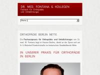 Dr. med. M. Fontana