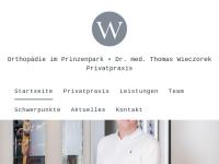 Dr. med. Thomas Wieczorek, Facharzt für Orthopädie, Chirotherapie und Sportmedizin