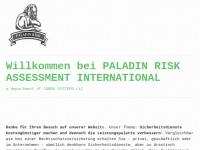 Paladin Risk Assessment International (PRAI) by EU Brillstein Security Agency BV Inc.