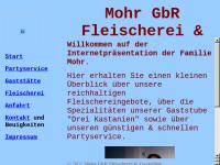 Partyservice Mohr GbR Fleischerei & Gaststätte