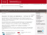 Patienten-Informationsservice - Beipackzettel-Suchmaschine