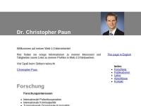 Paun, Christopher