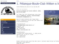 1. Pétanque-Boule-Club Witten e.V.
