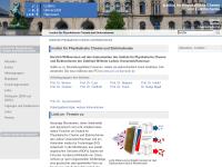 Institut für Physikalische Chemie und Elektrochemie