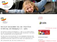 Plattform Ernährung und Bewegung e.V. (peb)