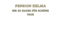 Hotel-Pension Helma