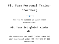 Personal Trainer Starnberg