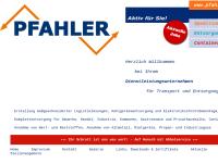 Josef & Franz Pfahler GmbH & Co. KG