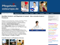 Pflegeheime in Osteuropa