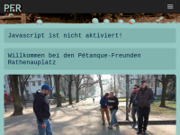 Pétanque-Freunde-Rathenauplatz