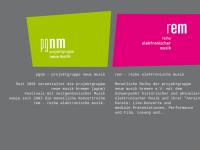 PGNM - projektgruppe neue musik bremen e.V.
